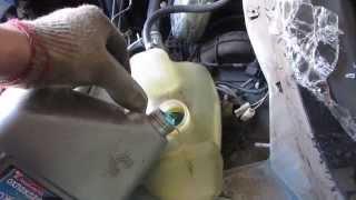 Замена охлаждающей жидкости: тосола или антифриза на ВАЗ 2110, 2114, 2115 инжектор