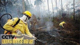 [国际财经报道]关注亚马孙雨林大火 世卫组织:大火易引起呼吸系统疾病| CCTV财经