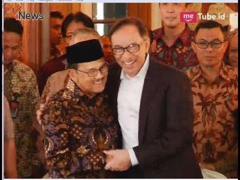Momen Kedatangan Anwar Ibrahim di Kediaman BJ Habibie - iNews Sore 20/05