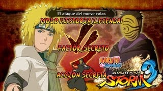 Naruto Shippuden Ultimate Ninja Storm 3 Full Burst Parte 1 | Prologo Gameplay Español Xbox360/PS3