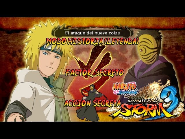 Naruto Shippuden: Ultimate Ninja Storm 3 Walkthrough + Full Burst - Parte 1 | Prologo | ナルト - 疾風伝ナルティメットストーム3 Gameplay Español/Japanese 1080p Xbox360/PS3 Videos De Viajes
