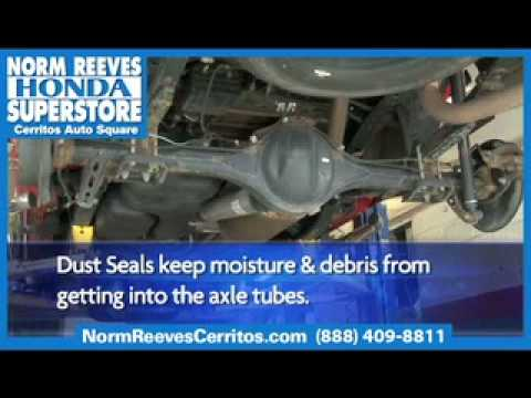 Axle Dust Seal - Ask A Tech