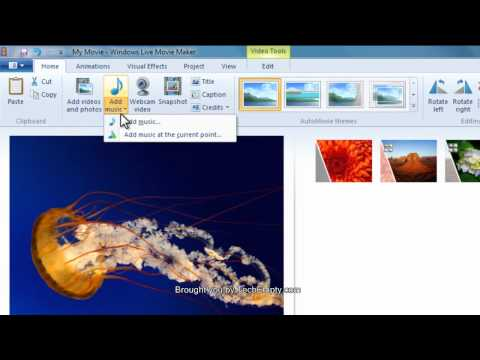 How To Create Videos On Windows Movie Maker In Windows 7