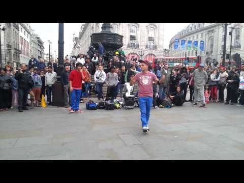 Break Dance performance in London