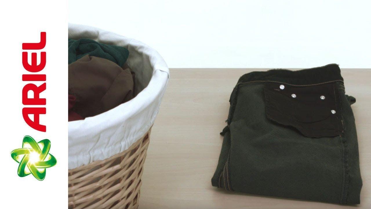 How to Wash Dark Clothes - Top Load Washing Machine - Ariel