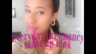 Everyday Pregnancy Makeup Look!!!