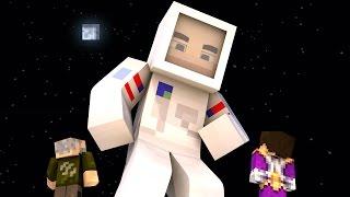 Minecraft | ASTRONAUTA LUNAR !! c/ Vegetta | Minijuego BUILD BATTLE