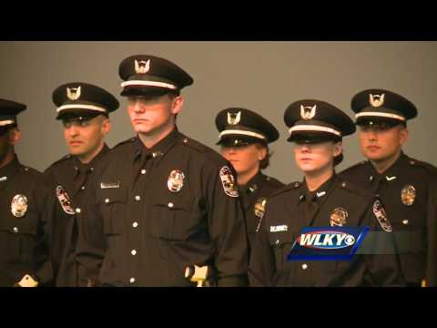 LMPD welcomes 29 new officers at swearing-in ceremony