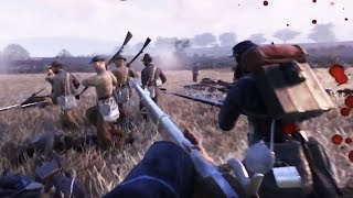 WAR OF RIGHTS - New Gameplay Trailer FPS Civil War Game 2018 (PC)