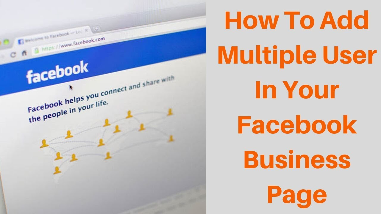 How to add multiple user in your facebook business page