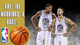 Are the warriors a bust?
