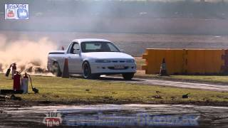 Tip it in Competition (Part 2) at Talks Cheap Burnouts. 7 car compilation