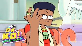 TAMAM K. O.! Bakalım Kahraman Olmak | KO Kaptan Gezegen olarak Kirlilik Savaşır! | Cartoon Network