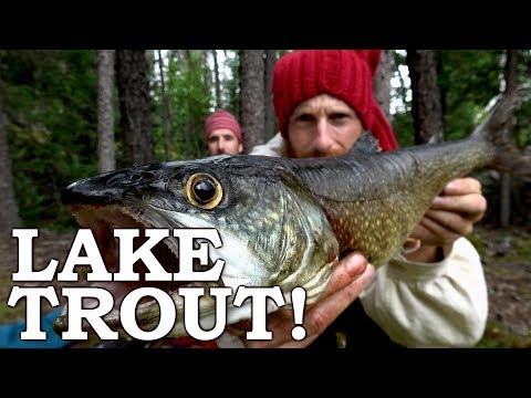 Catch and Cook SNAGGED a TROUT in SECONDS! Ep1 | EARLY VOYAGEURS Dropped Back in TIME!
