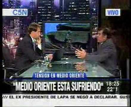 Embajador De Israel En Argentina: Gaza. Chavez Y 60º Aniv.