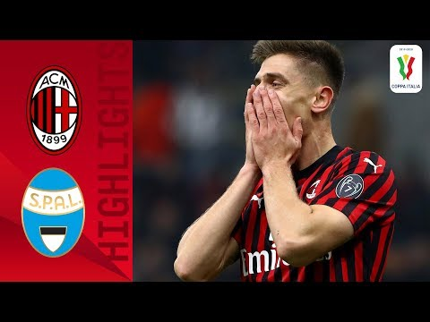 Milan 3-0 Spal | Piątek Scores As Milan Enjoy Comfortable Win! | Round Of 16 | Coppa Italia