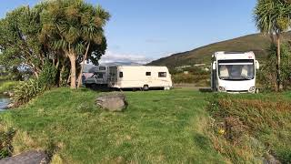 0822 Caherciveen camping Mannix point zicht