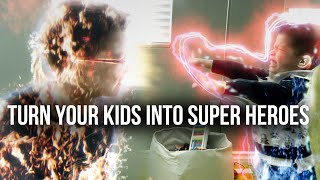 How To Turn Your Kids Into Super Heroes (After Effects Tutorial)