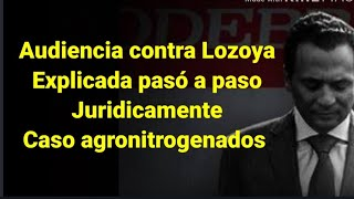 La primera audiencia inicial de Lozoya explicada paso a paso jurídicamente