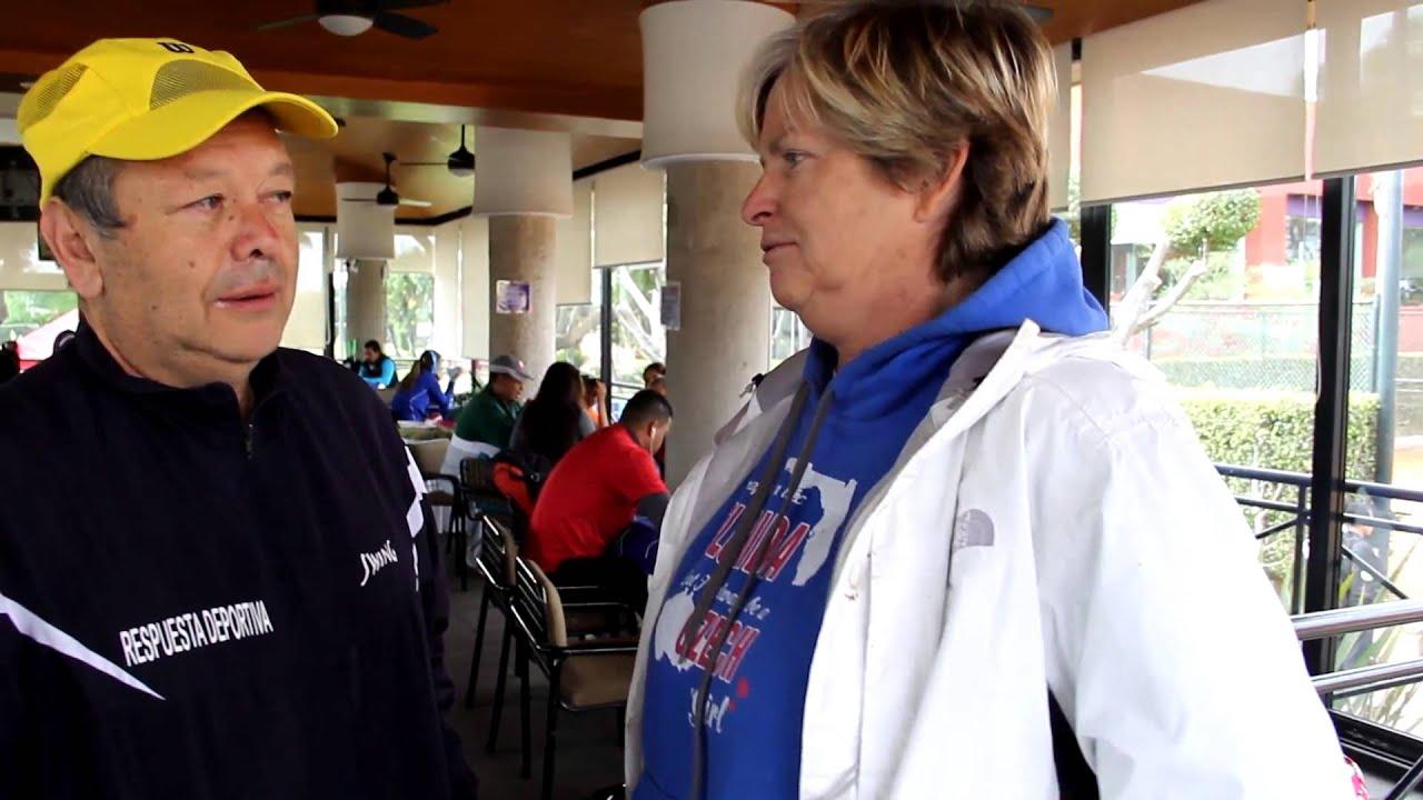HANA MANDLIKOVA GANADORA DE CUATRO GRAND SLAMS CHARLA CON