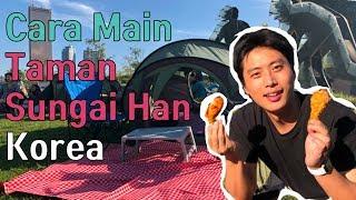 Cara Main Di Taman Sungai Han Korea / Tenda & Chiken