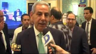 العاشرة مساء  حفل جمعية مستثمرى اكتوبر بحضور د/أحمد بهجت وعدد من الوزراء