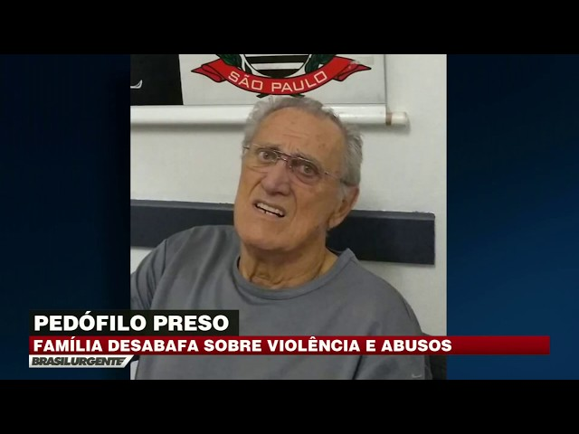 Idoso pedófilo é preso acusado de abusar de menina