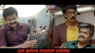 LKG Tamil Movie full Comedy Scenes JK Rithesh RJ Balaji Manobala Mayilsamy KR Prabhu
