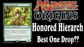 Magic Origins: Honored Hierarch Spoiler, Best One Drop?
