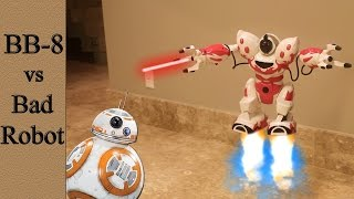 Robots Battle - BB-8 vs bad robot