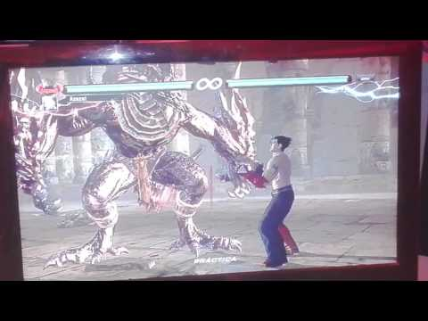 Tekken 6 (First) Gold AZAZEL + Azazel temple gallery stage! PS3