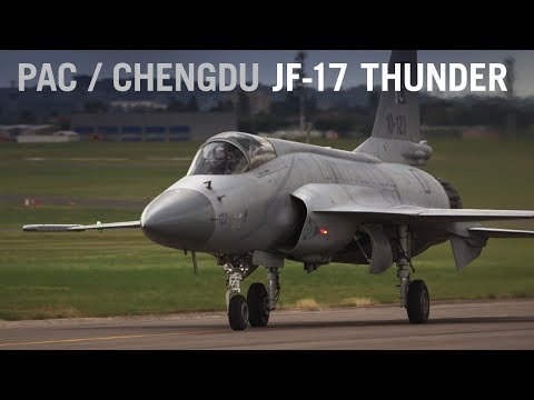 PAC/Chengdu JF-17 Thunder Flies over Paris Air Show 2015 – AINtv Express