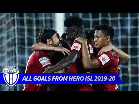 All of NorthEast United FC's goals from Hero ISL 2019-20