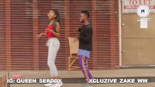 IF - DAVIDO  DANCE CHOREOGRAPHY BY ZAKE & SALLY ( A lady who never tried dancing )
