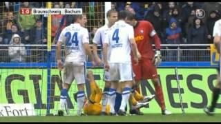 Eintracht Braunschweig 3:0 VfL Bochum Zusammenfassung 06.10.2012