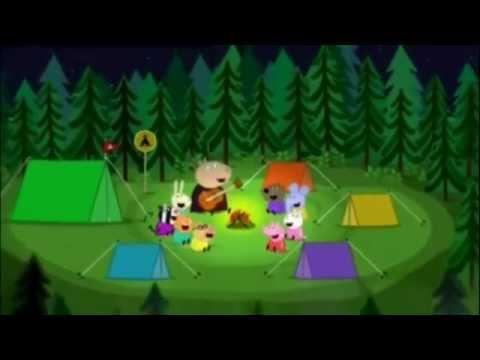 Peppa la Cerdita La cancion de Bing Bong en el Campamento