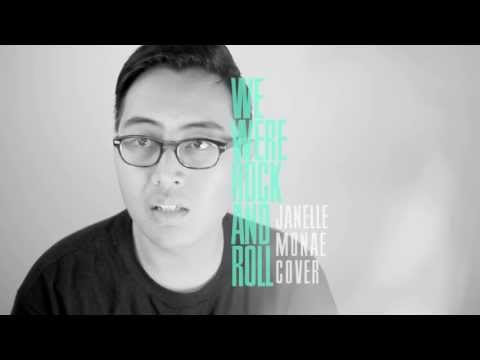 "Cover / Janelle Monáe / ""We Were Rock And Roll"""