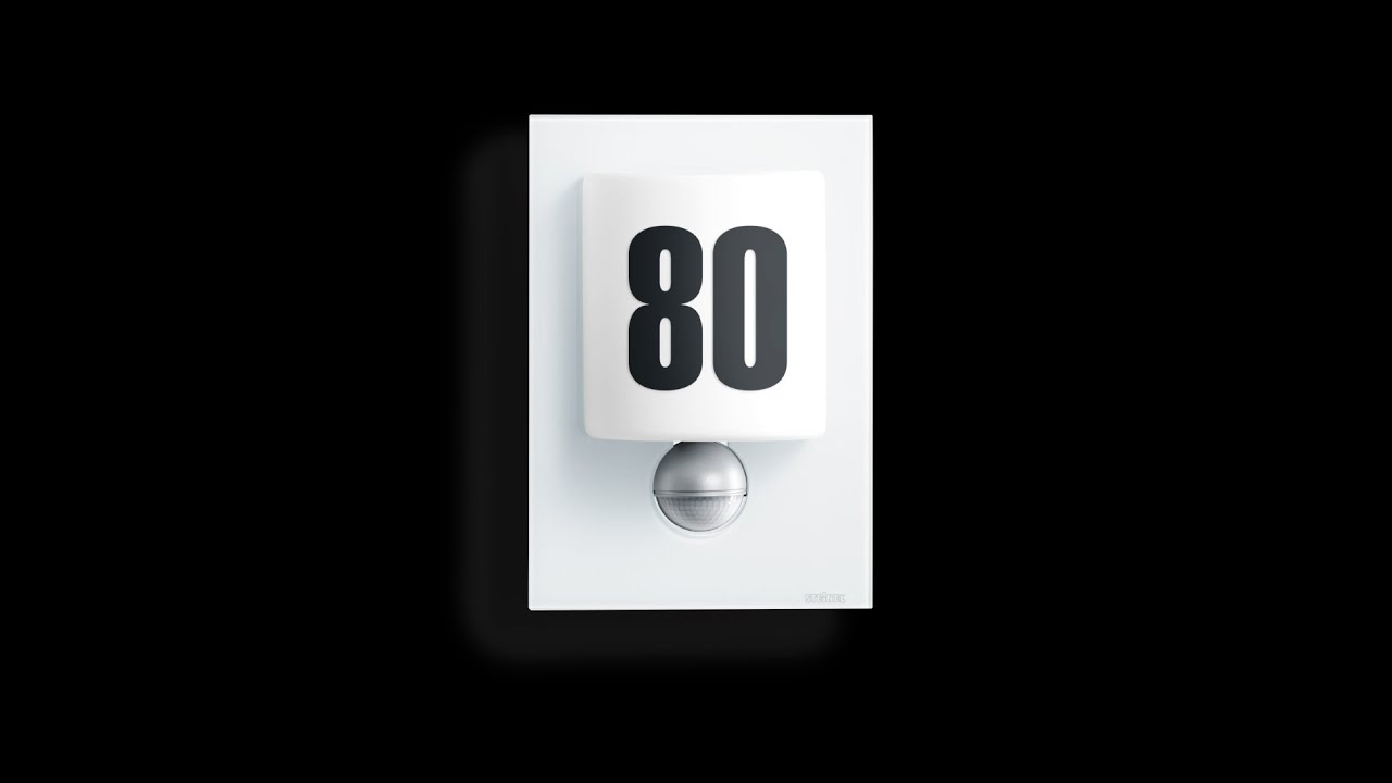 au enleuchte sensor au enleuchte l 680 led steinel. Black Bedroom Furniture Sets. Home Design Ideas