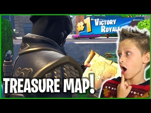 FINDING BURIED TREASURE FOR VICTORY ROYALE!