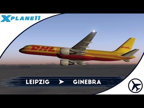 Estrenando modelito... | LEJ - GVA | Boeing 757-200F [Flight Factor] | XPlane 11