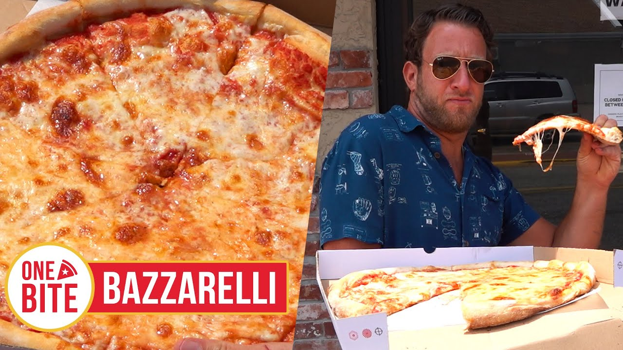 Barstool Pizza Review - Bazzarelli (Moonachie, NJ)