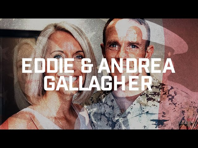 Eddie & Andrea Gallagher: The Story of The Man in the Arena