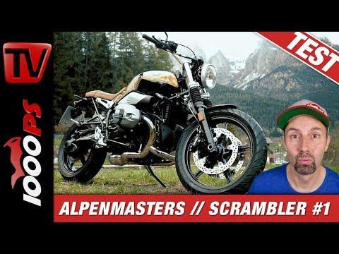 BMW R nineT Scrambler Test - Alpenmasters Vergleich - Scrambler 1/4
