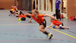 Handbal sprint oefening Novitas