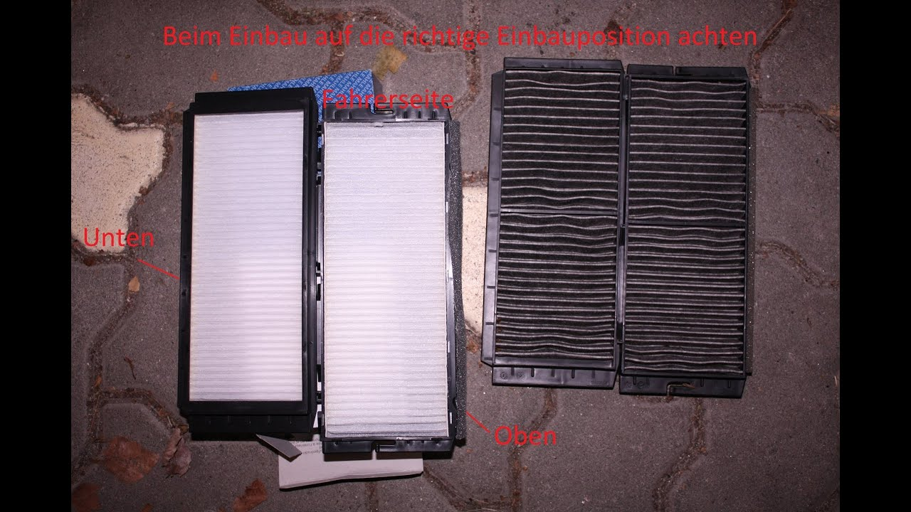 Cabin Air Filter Replacement >> MAZDA 3 MPS BL Pollenfilter Innenraumfilter wechseln [Tutorial] Cabin Air Filter replacement ...