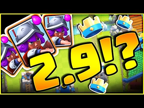 I LOVE THIS NEW DECK!! • Clash Royale Cheap 3 MUSKETEER DECK!