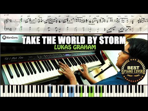 Take The World By Storm Piano Cover Sheet Music Guide