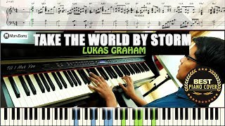 Take The World By Storm / Piano Cover Instrumental Tutorial Guide