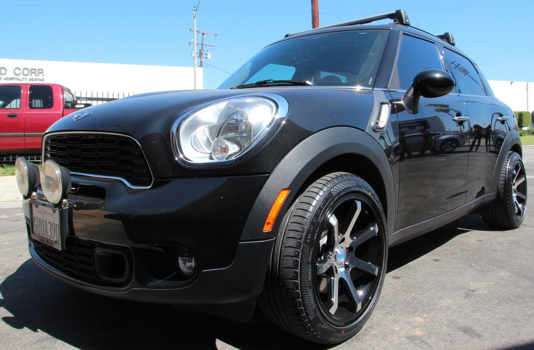 Mini Cooper Wheels >> 2Crave Mach 7 Wheels on a 2012 Mini Cooper S - YouTube