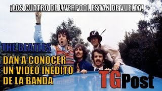 Difunden video inédito de The Beatles